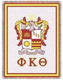 Phi Kappa Theta Afghan Blanket Throw