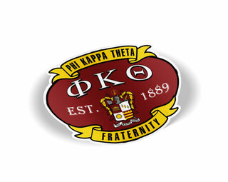 Phi Kappa Theta Banner Crest - Shield Decal