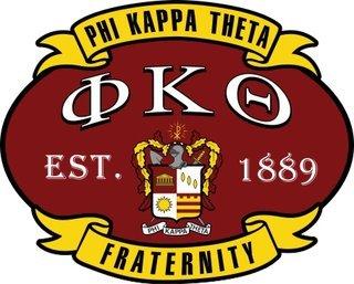 Phi Kappa Theta Banner Crest - Shield Decal