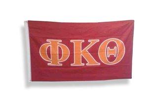 Phi Kappa Theta Big Greek Letter Flag