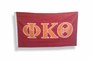 Phi Kappa Theta Big Greek Letter Flag
