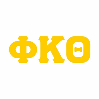 Phi Kappa Theta Big Greek Letter Window Sticker Decal