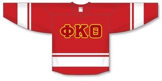 DISCOUNT-Phi Kappa Theta Breakaway Lettered Hockey Jersey