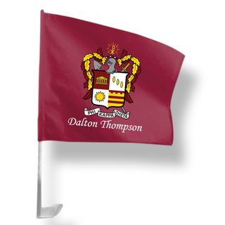 Phi Kappa Theta Car Flag