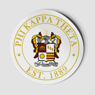 Phi Kappa Theta Circle Crest - Shield Decal