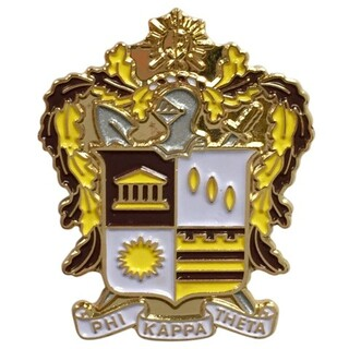 Phi Kappa Theta Color Crest - Shield Pins