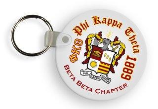 Phi Kappa Theta Color Keychains