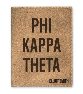 Phi Kappa Theta Cork Portfolio with Notepad