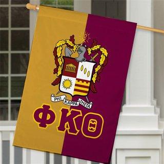 Phi Kappa Theta Crest House Flag