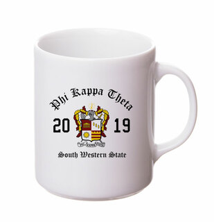 Phi Kappa Theta Crest & Year Ceramic Mug