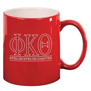 Phi Kappa Theta Custom Ceramic Coffee Mug