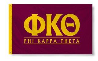 Phi Kappa Theta Custom Line Flag