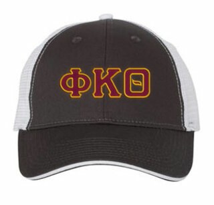 Phi Kappa Theta Double Greek Trucker Cap
