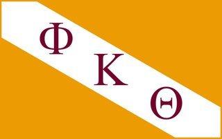 Phi Kappa Theta Flag Decal Sticker