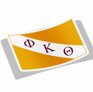 Phi Kappa Theta Flag Decal Sticker