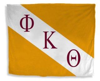 Phi Kappa Theta Flag Giant Velveteen Blanket