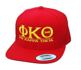 Phi Kappa Theta Flatbill Snapback Hats Original