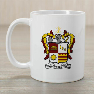 Phi Kappa Theta Greek Crest Coffee Mug
