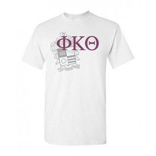 Phi Kappa Theta Greek Crest - Shield T-Shirt