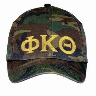 Phi Kappa Theta Lettered Camouflage Hat