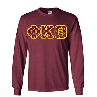 Phi Kappa Theta Lettered Long Sleeve Shirt