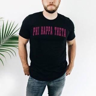 Phi Kappa Theta letterman tee