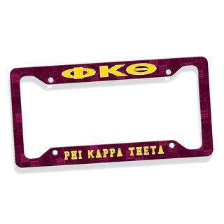 Phi Kappa Theta Custom License Plate Frame