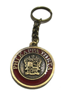 Phi Kappa Theta Metal Fraternity Key Chain