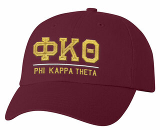 Phi Kappa Theta Old School Greek Letter Hat