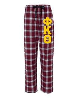 Phi Kappa Theta Pajamas Flannel Pant
