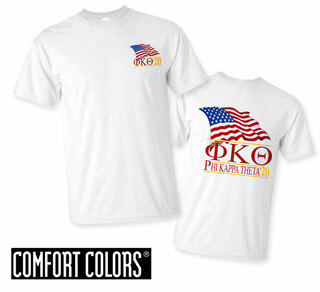 Phi Kappa Theta Patriot  Limited Edition Tee - Comfort Colors