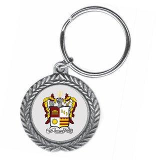 Phi Kappa Theta Pewter Key Ring