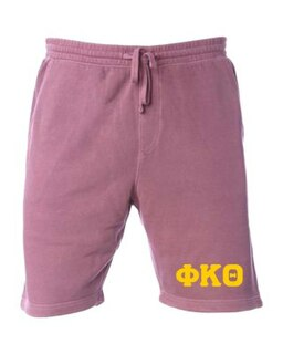 Phi Kappa Theta Pigment-Dyed Fleece Shorts