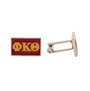 Phi Kappa Theta Rectangle Cuff Links