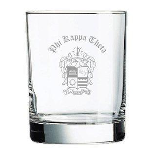 Phi Kappa Theta Old Style Glass