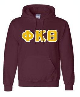 Phi Kappa Theta Sewn Lettered Sweatshirts