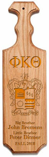 Phi Kappa Theta Traditional Greek Paddle