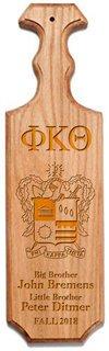 Phi Kappa Theta Traditional Greek Paddle