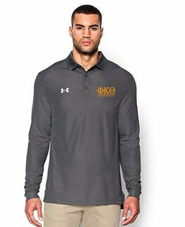 Phi Kappa Theta Under Armour�  Men's Performance Long Sleeve Fraternity Polo