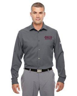 Phi Kappa Theta Under Armour�  Men's Ultimate Fraternity Long Sleeve Buttondown