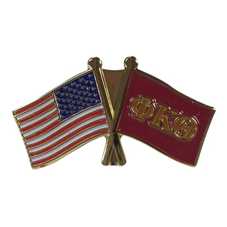 Phi Kappa Theta USA Flag Lapel Pin