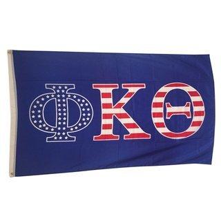Phi Kappa Theta USA Greek Letter Flag