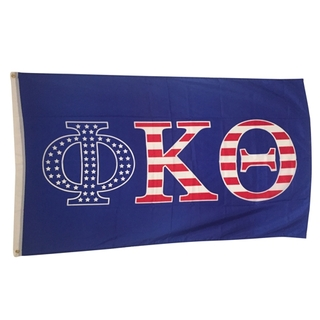 Phi Kappa Theta USA Greek Letter Flag