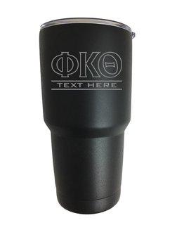 Phi Kappa Theta Vacuum Insulated Tumbler