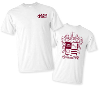 Phi Kappa Theta World Famous Crest - Shield Tee