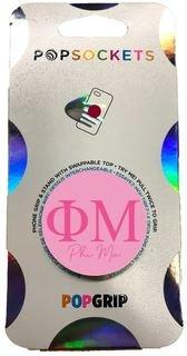 Phi Mu 2-Color PopSocket