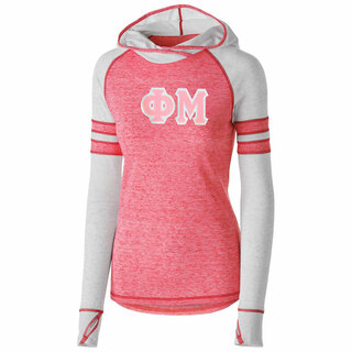 DISCOUNT-Phi Mu Advocate Lettered Hoody