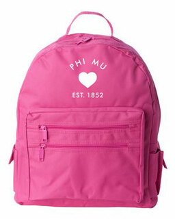 DISCOUNT-Phi Mu Mascot Backpack