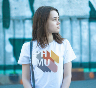 Phi Mu Califonic Tee - Comfort Colors
