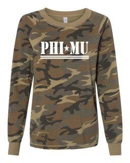 Phi Mu Camo Crew